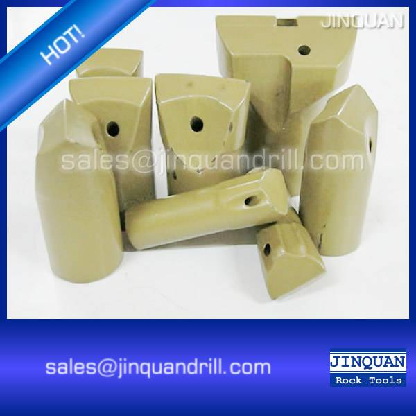tapered chisel bit /Horseshoe chisel bit/Oblique chipways chisel bit for hot sale!