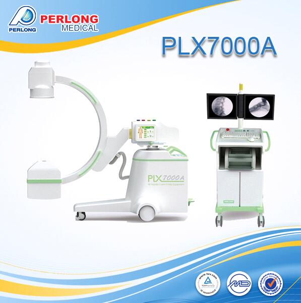 mobile x-ray equipment PLX7000A C arm system Toshiba intensifier