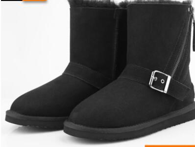 Wholesale Newest sheepskin winter snow boots for woman