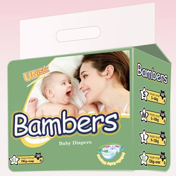 Disposable Comfortable Bamper Baby Diaper