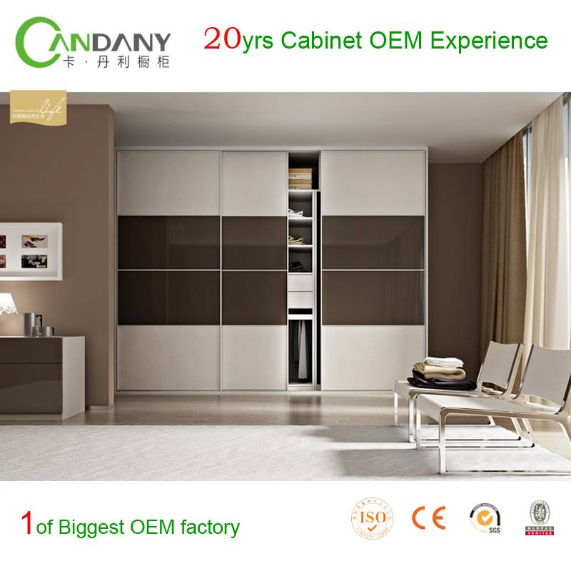 20 Yrs in OEM/ODM Modern Customized Wardrobe Cabinet Euro Hot Sale Home Furniture