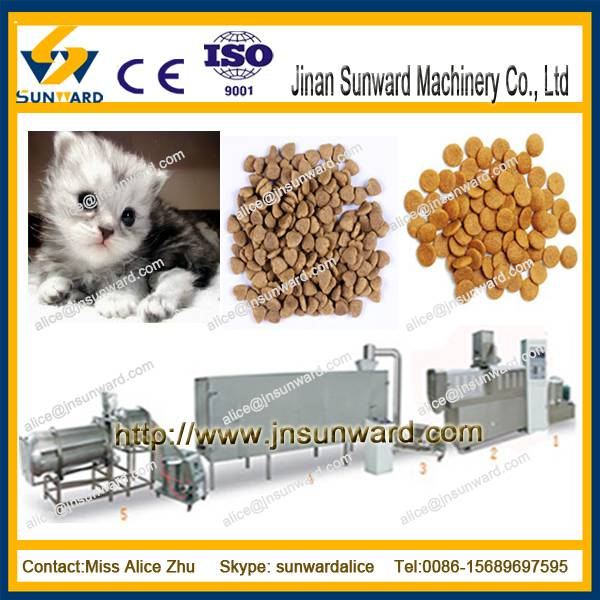 pet food machine/ dog food machine/ poultry feeding line