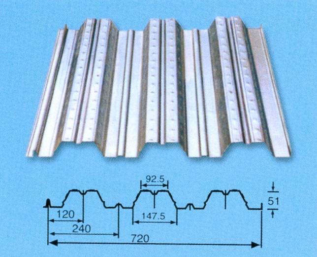 Stainless Steel Floor Decking Sheet