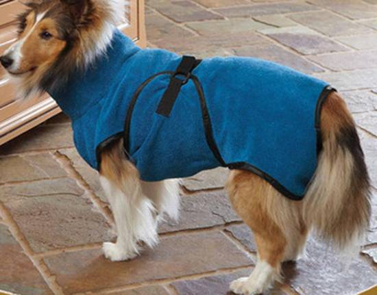 dog bathrobe microfiber drying towel