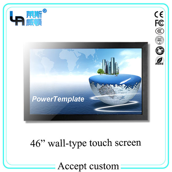 LASVD 46 inch Infrared Wall-mounted Touch Screen Monitor