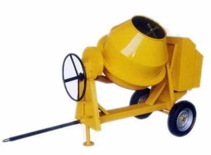 350L portable mini concrete mixer
