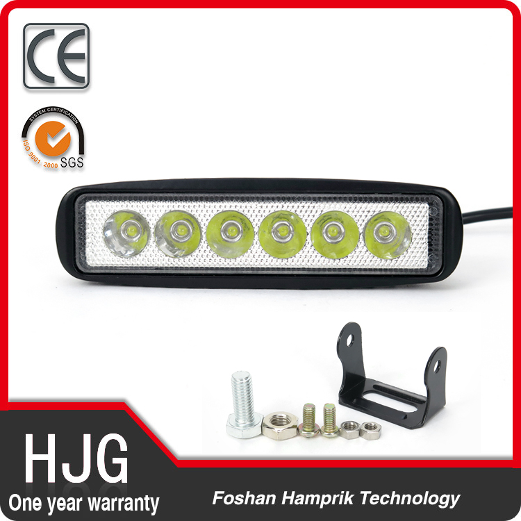 factory wholesale led motorcycle work light 18w led spot light 12v led fog light