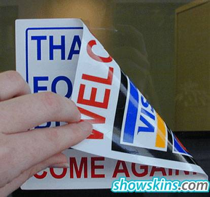 Car windows Static Cling stickers,Car Stickers, Auto Stickers, Bumper Stickers, Vinyl Auto Decals