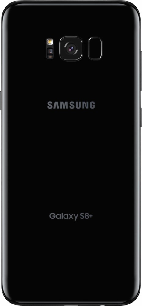 Samsung - Galaxy S8+ 64GB (Unlocked) - Midnight Black