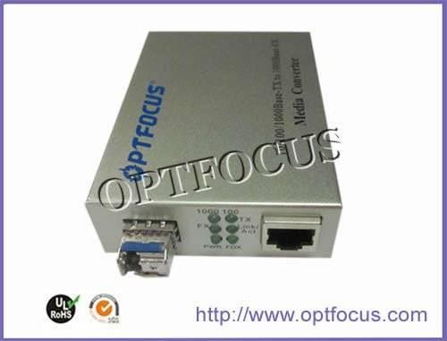 10/100/1000M SFP PORT Media Converter