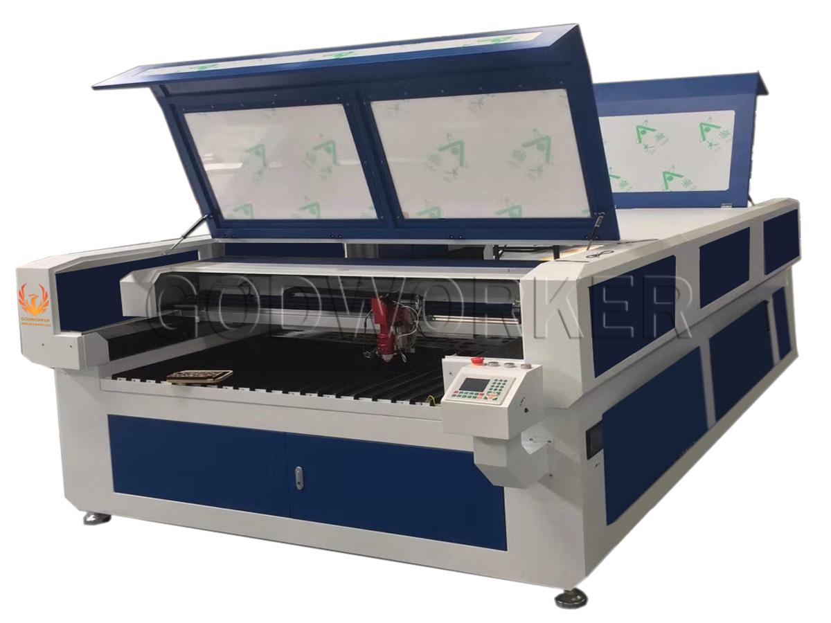 GW1325 enclosed metal nonmetal laser cutting machine