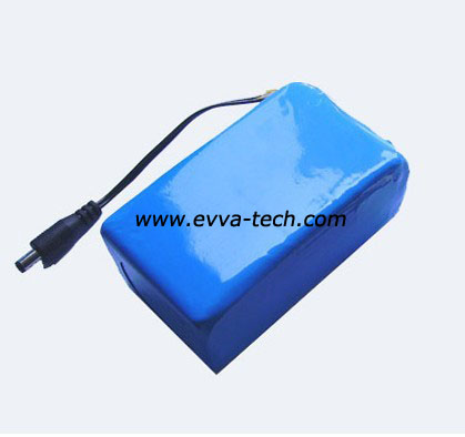 Battery Pack with Polymer Cell 7.4V 2S2P 2400mAh 453759