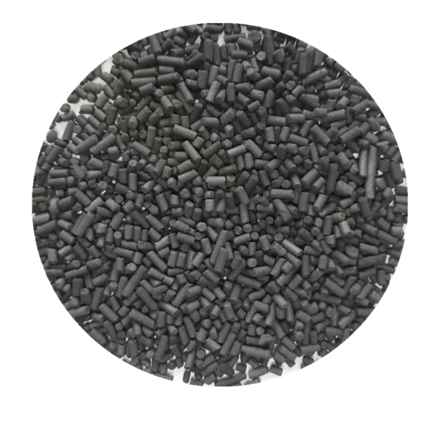 Toxic gas treatment activated carbon pelleted
