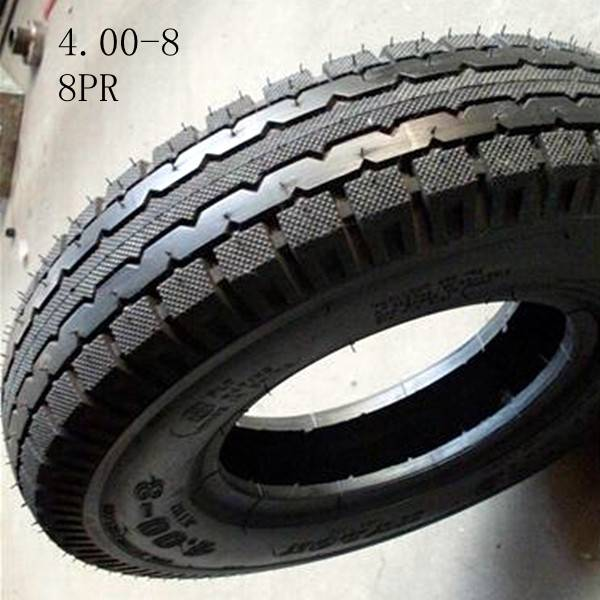 Durable Tricycle / Three Wheel Car / Motorcycle Tire Tube 4.00-8