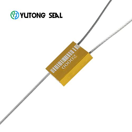 Aluminium alloy wire cable logistic lock seal
