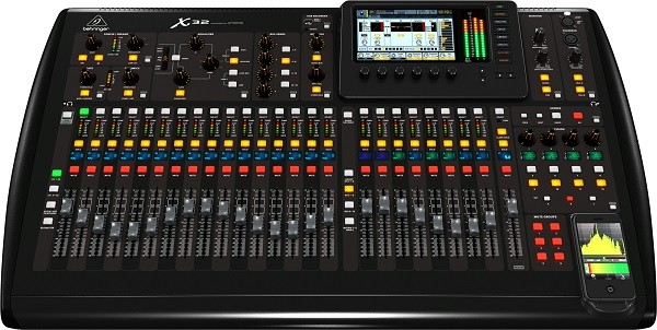 BEHRINGER X32 32-Channel 16-Bus Total Recall Digital Mixing Console