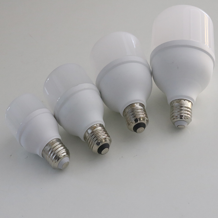 Aluminum and Plastic led bulbs for home indoor lighting