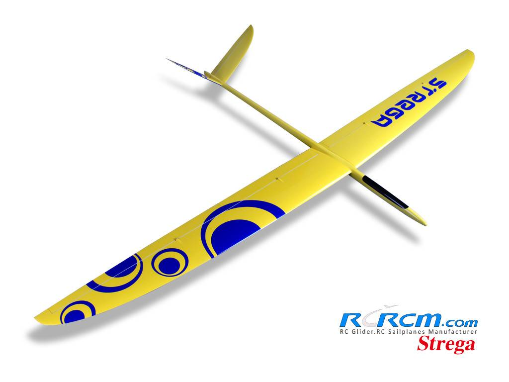 Strega1-2.9m full composite rc glider