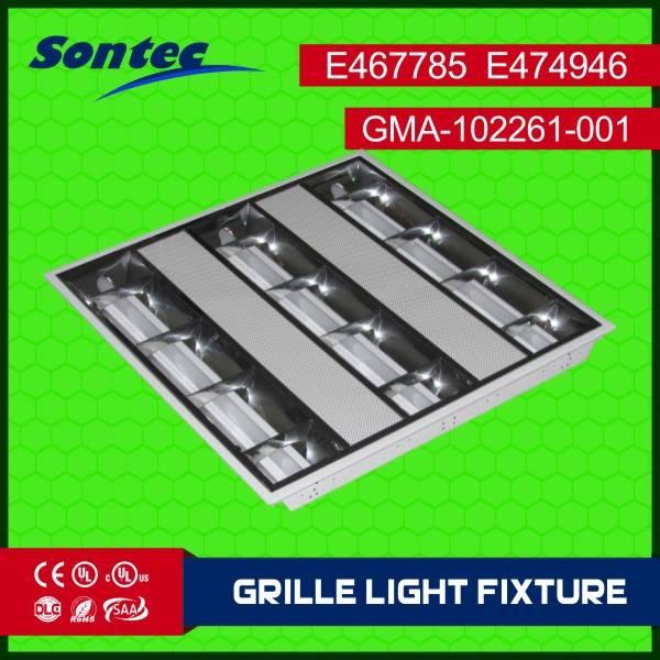 UL 2ft led tube luminaire recessed ceiling light