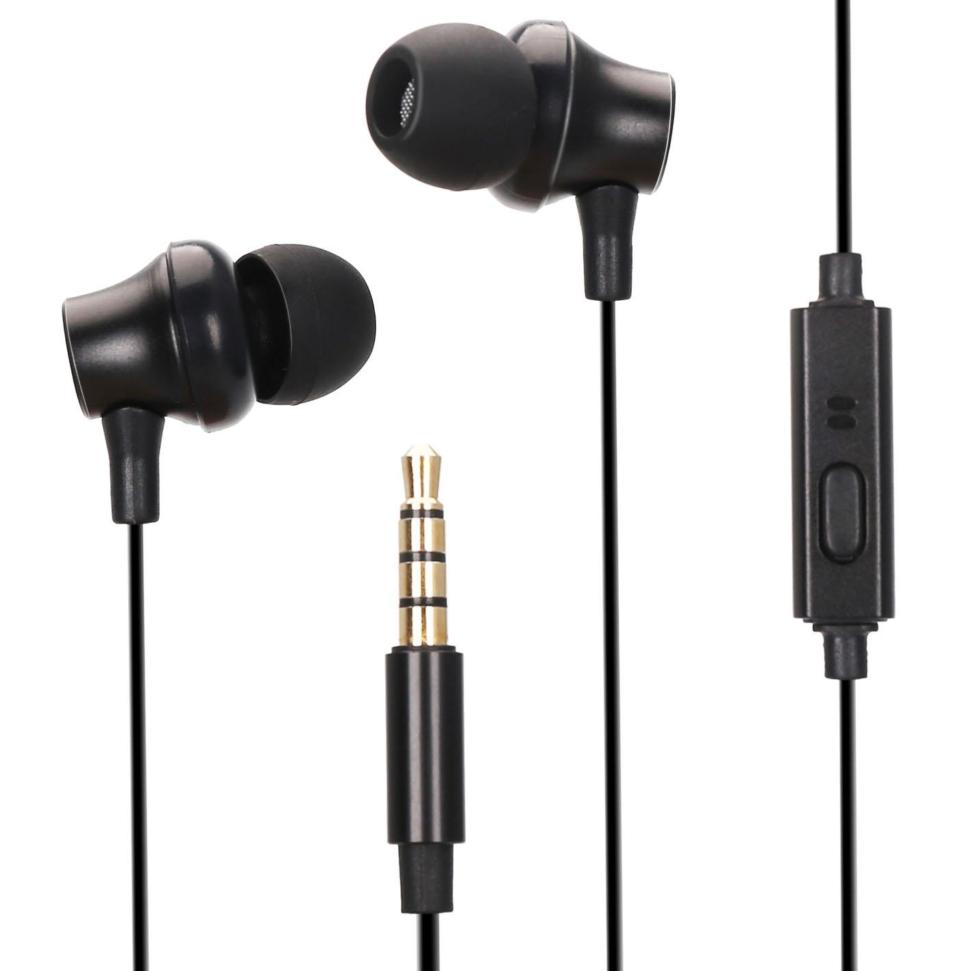 Stereo Wired Best Small Earphones And Headphones With Mic 3.5mm Interface Compatible With Most Table