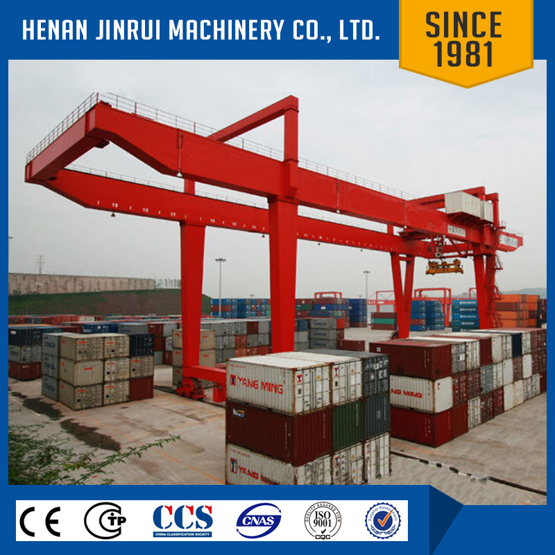 Container Lifting Rail Mounted Gantry Crane