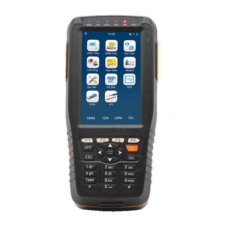 Multi-Functional Intelligent Handheld Network Cable Line Analyzer VDSL/ ADSL/ADSL2 Tester