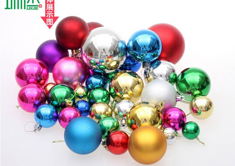 decoration 36PCS/christmas balls decorative rattan balls COLOURS christmas hanging decoration