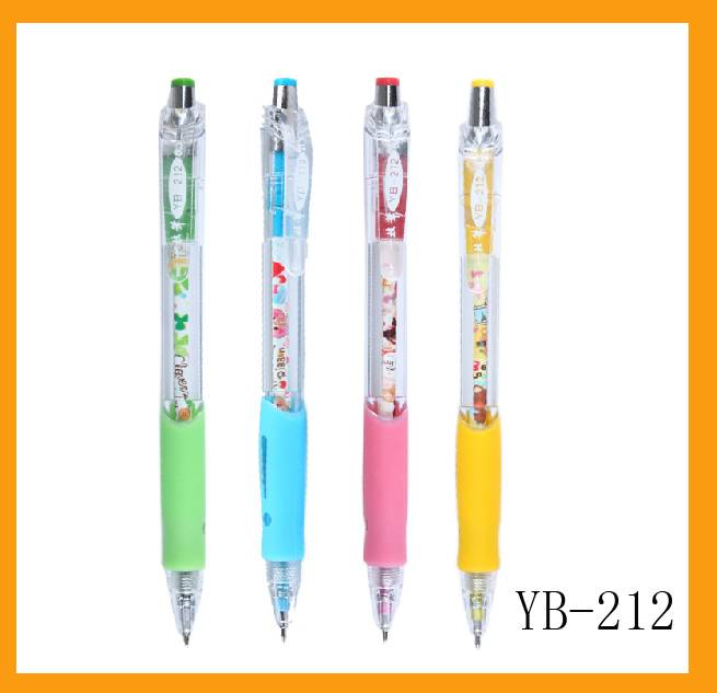 Crazy selling plastic ball pens for promotional
