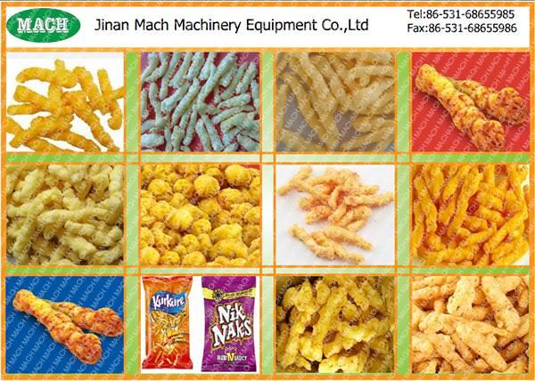 Corn Curls Snacks Production Line