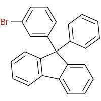 9-(3-Bromophenyl)-9-phenyl-9H-fluorene[1257251-75-4]
