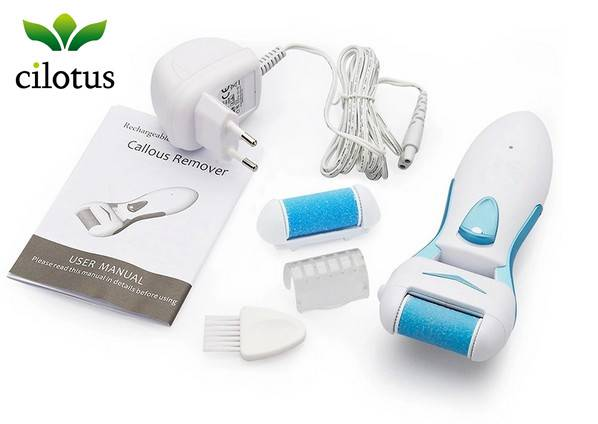 rechargeable callous remover electric callus remover