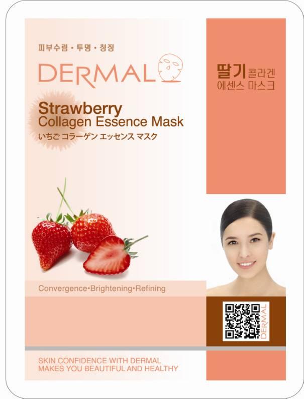 Dermal Strawberry Collagen Essence Mask