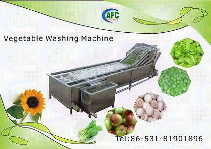 Continues Bubble cleaning machine