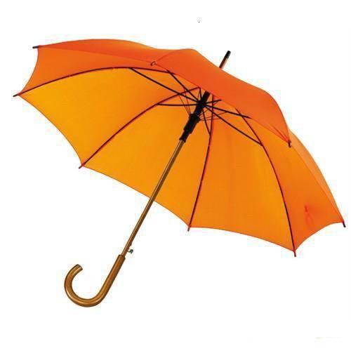 auto wooden shaft umbrella