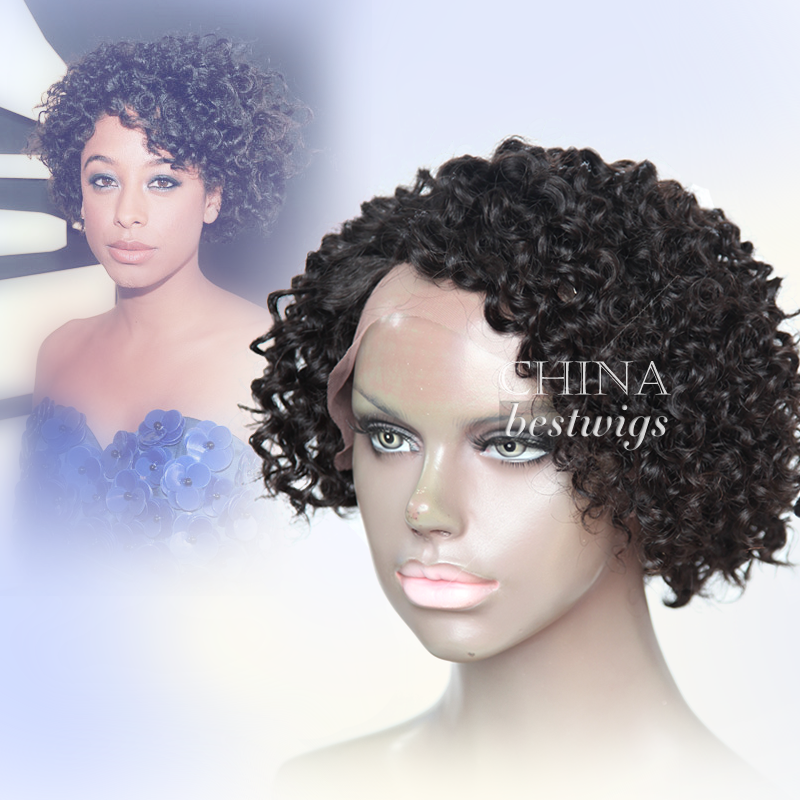 curly all hair wig