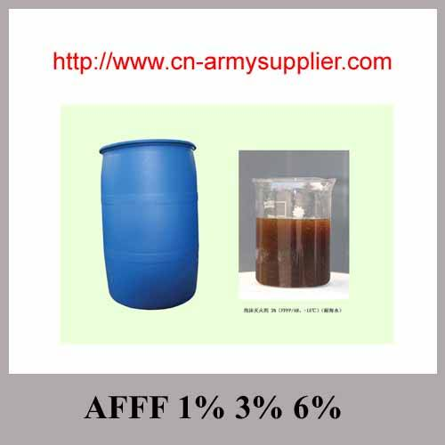 AFFF 1% 3% 6% Fire products Extinguishing agent compound foam