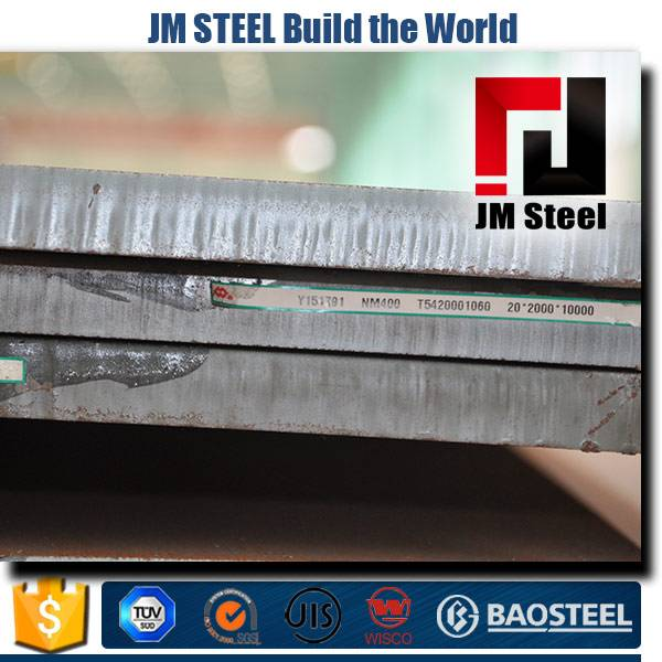 durable performance high payload nm400 wear resistant steel plate sheet