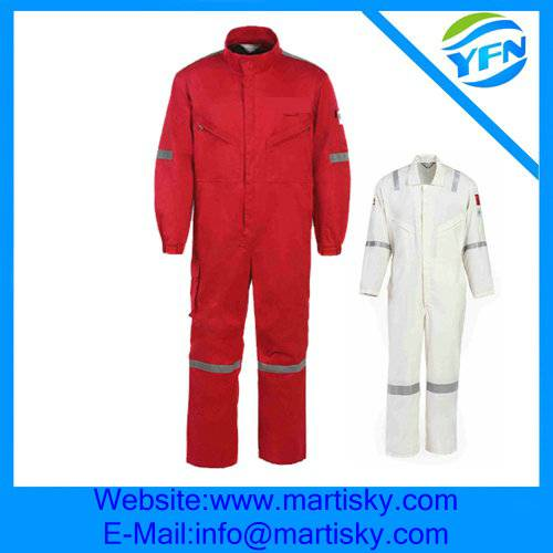 Jumpsuit Safety Fire Retardant Work Clothing Manufacture In China