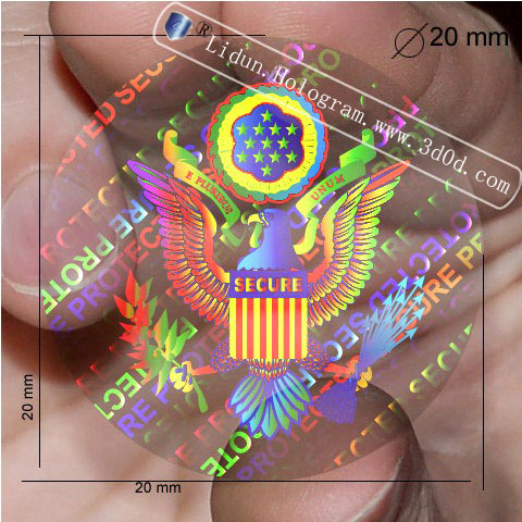 3d Security ID card