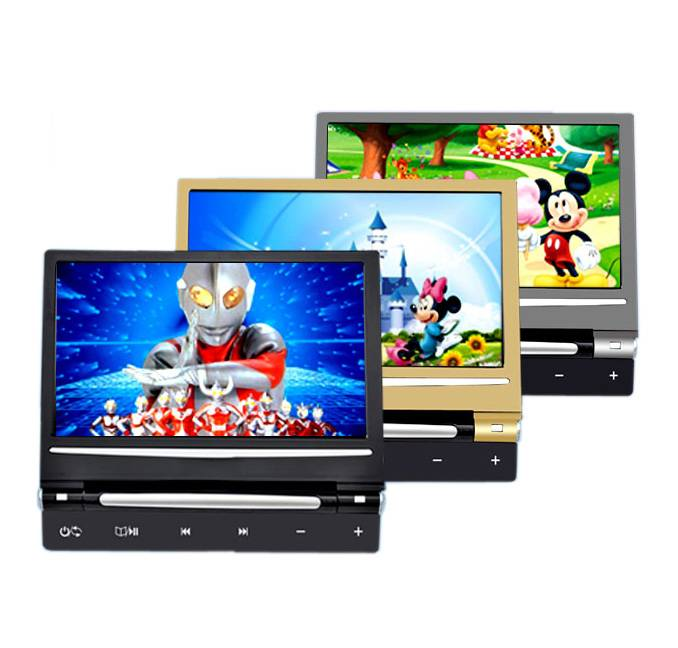 9 Inch TFT-LCD Display Car Headrest DVD & Game