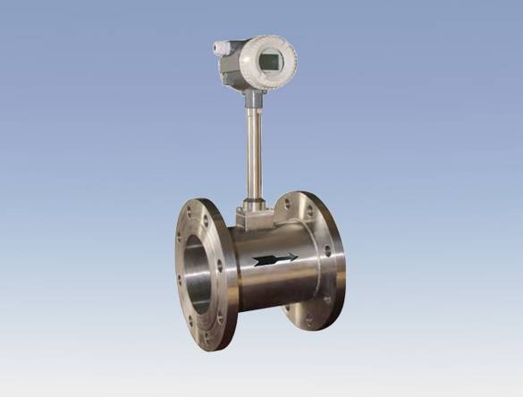 Ss304 Compensation Type Vortex Gas Flowmeter with Flanged Type/ Clamping Type/ Threaded Type
