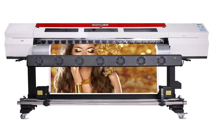 SAITU 2M Double Head Large Format Digital Printer