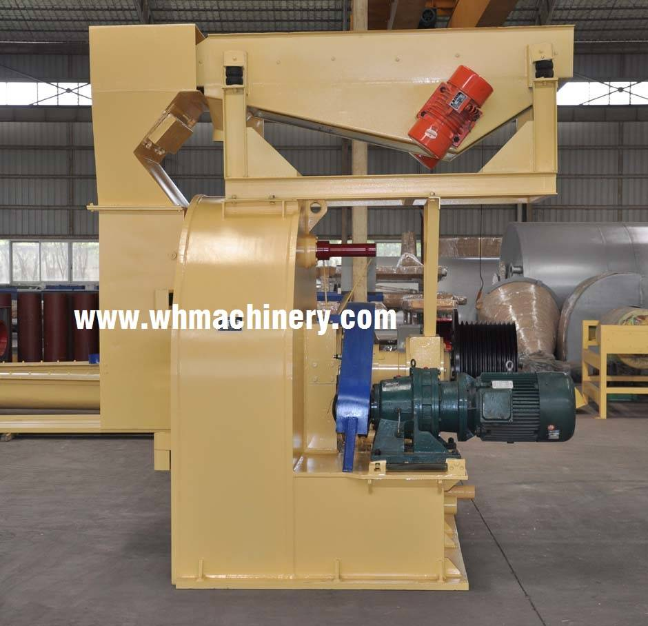 ring flaker / particle board production line
