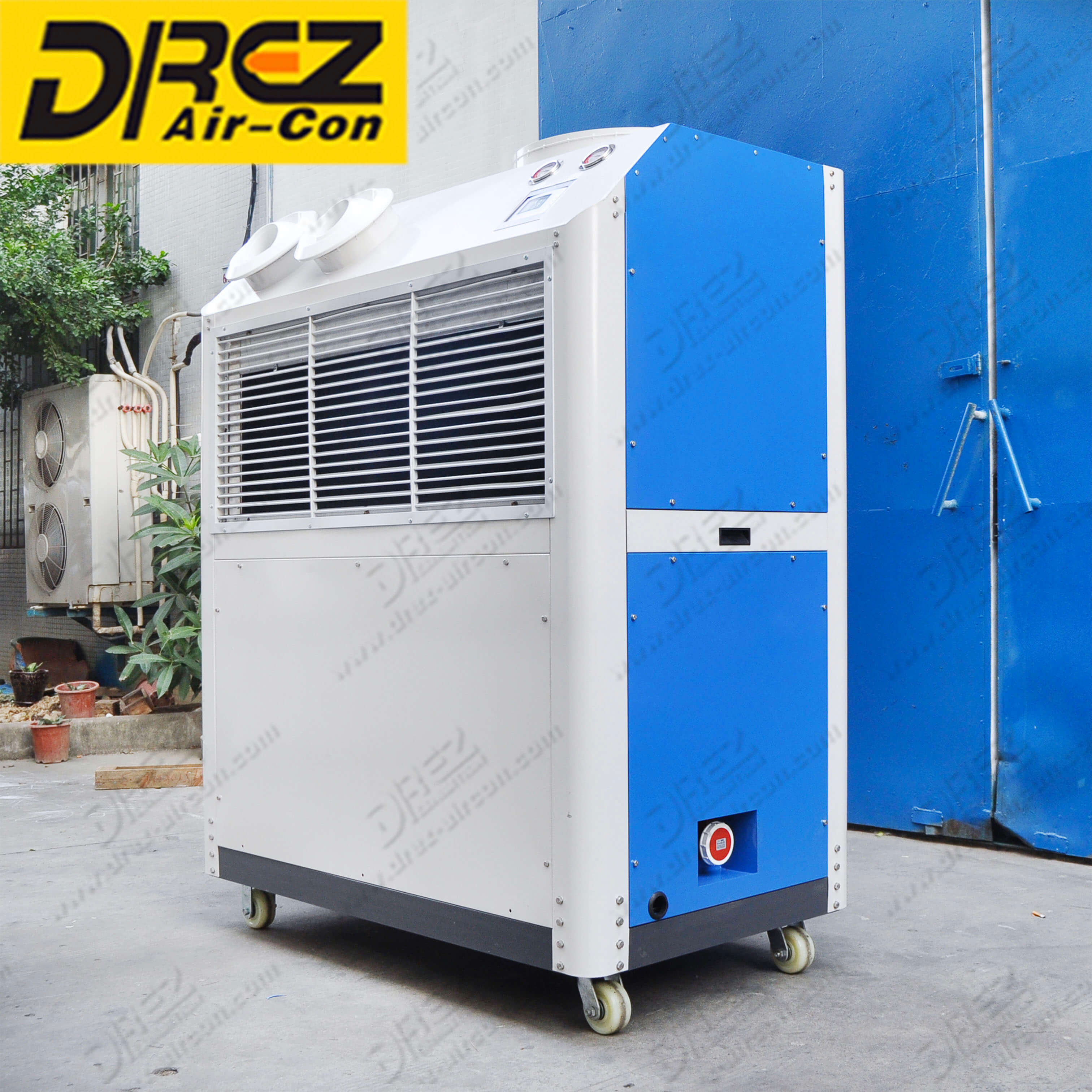 Drez Ducted AC Units 6 Ton Tent Air Conditioner Portable Aircond for Wedding Halls