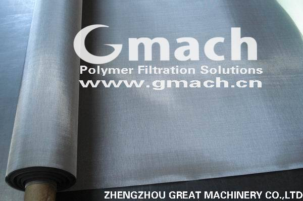stainless steel wire mesh for extruder for filter