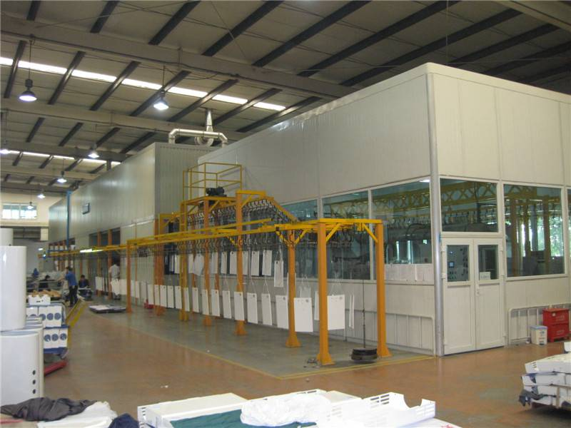 D Oriental DOT-IS1 Industrial coating line / Industrial Spray booth