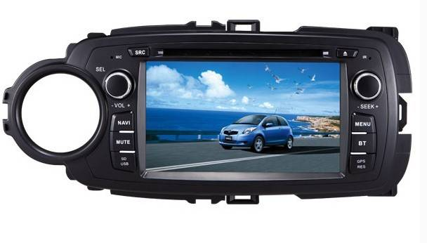 Toyota New Yaris 2013 Car DVD Player with GPS Navigation,E5113