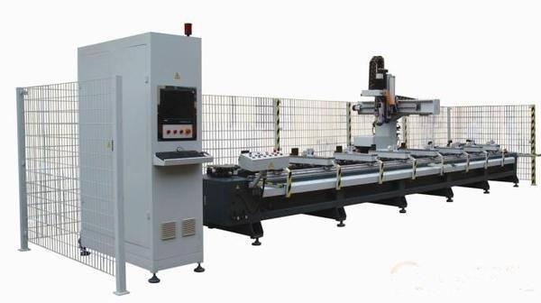 MA1260-4X 4-axis Aluminum CNC Processing Center