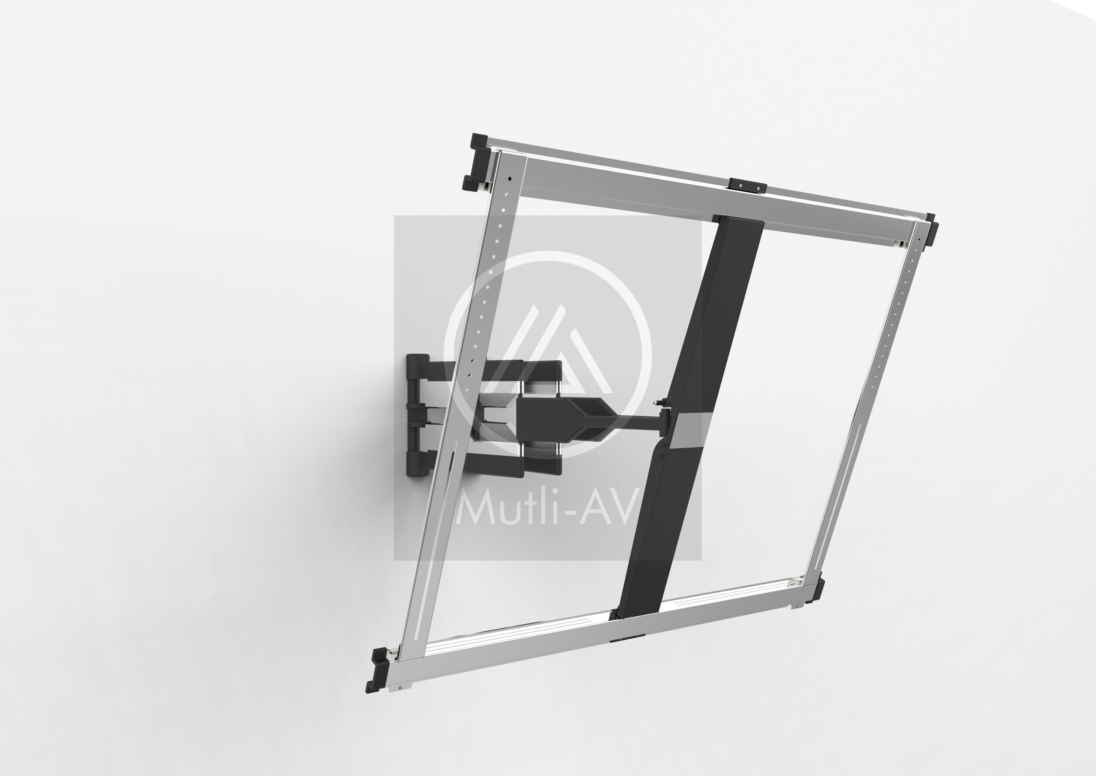 Ultra Slim Full Motion TV Wall Mount 65-100 inches