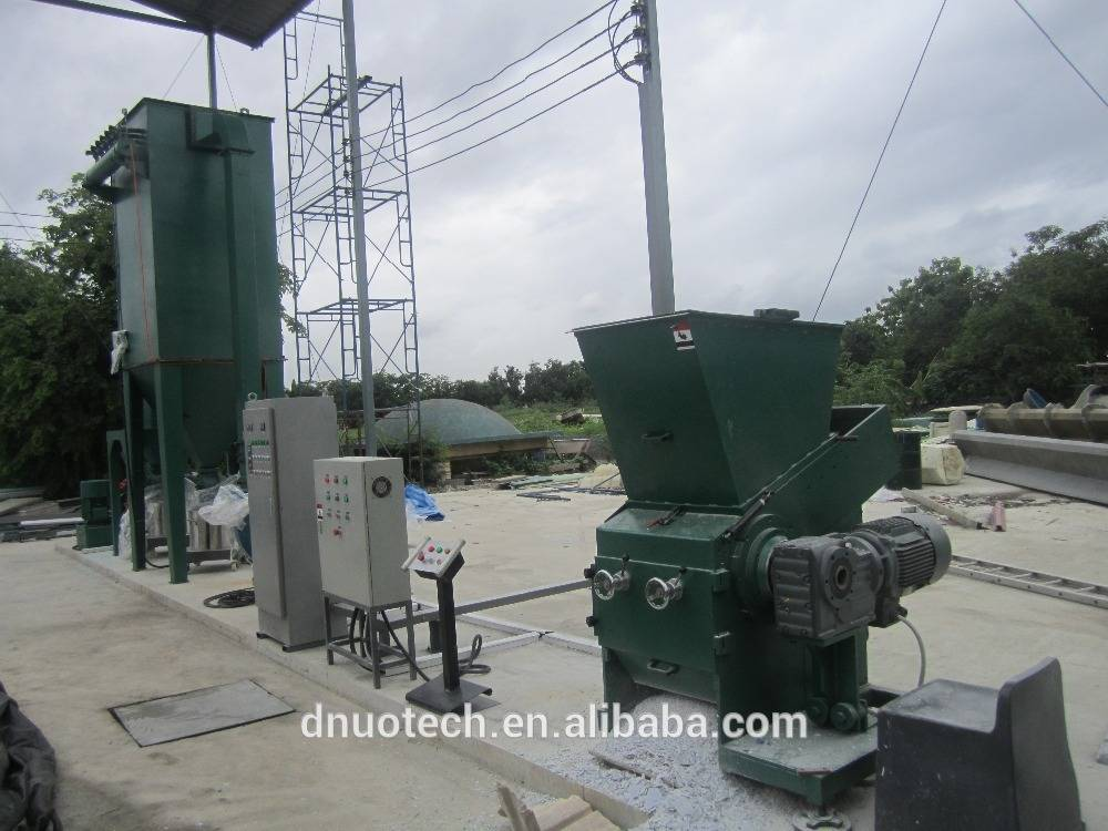 FRP waste products crush and grinding machine